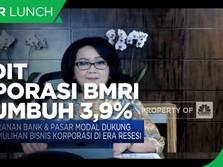 Bisnis Membaik, Kredit Korporasi BMRI Q1-2021 Tumbuh 3,9%