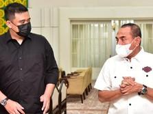Heboh, 'Panas' Gubernur Sumut dengan Mantu Jokowi