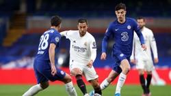 Madrid Kalah, Hazard Malah Ketawa Bareng Pemain Chelsea