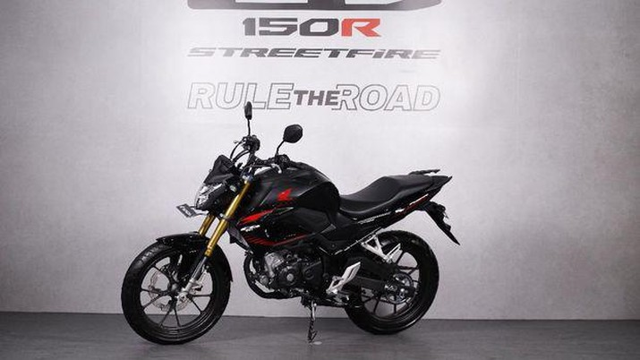 Honda CB150R Streetfire. (Dok: Astra Honda Motor)