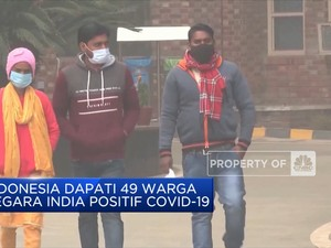 Indonesia Dapati 49 Warga Negara India Positif Covid-19