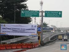 Imbas Penyekatan Mudik, Para Pekerja Protes di Tol Cikampek