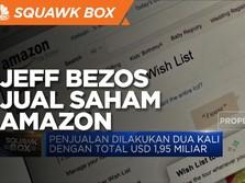 Jeff Bezos Jual Saham Amazon, Raup Rp 27 Triliun!
