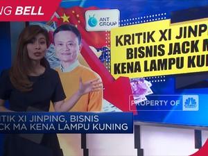 Kritik Xi Jinping, Bisnis Jack Ma Kena Lampu Kuning