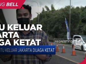 Mudik Dilarang, Pintu Keluar Jakarta Dijaga Ketat