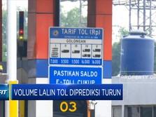 Volume Lalin Tol Diprediksi Turun