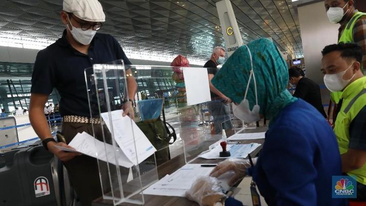 Bandara Internasional Soekarno Hatta, Tangerang, Banten. (CNBC Indonesia/Andrean Kristianto)