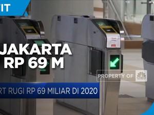 Gegara Pandemi Covid-19, MRT Jakarta Rugi Rp 69 Miliar