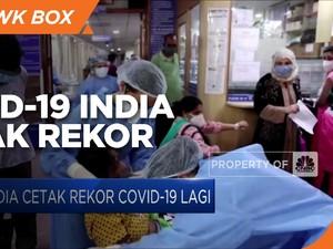 India Cetak Rekor Covid-19 Lagi