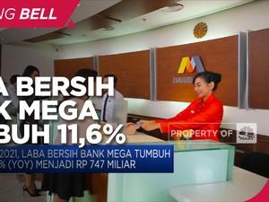 Laba Bersih Q1-2021 Bank Mega Tumbuh 11,6% Menjadi Rp 747 M