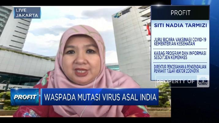 Waspada Virus Covid India, Kemenkes Awasi Ketat Perbatasan(CNBC Indonesia TV)