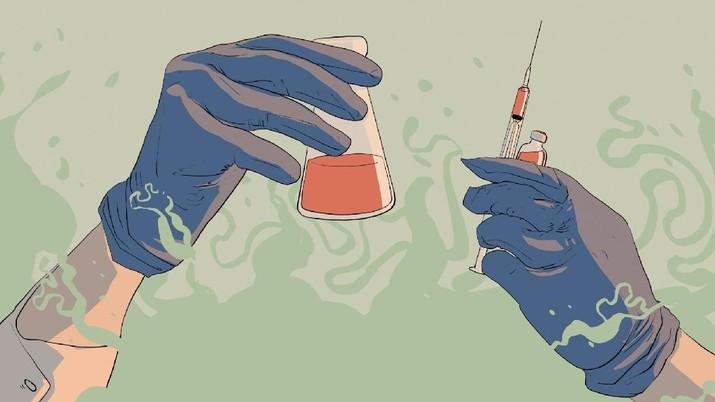 INFOGRAFIS, Jumlah Dosis Vaksin yang Telah Tiba di Indonesia