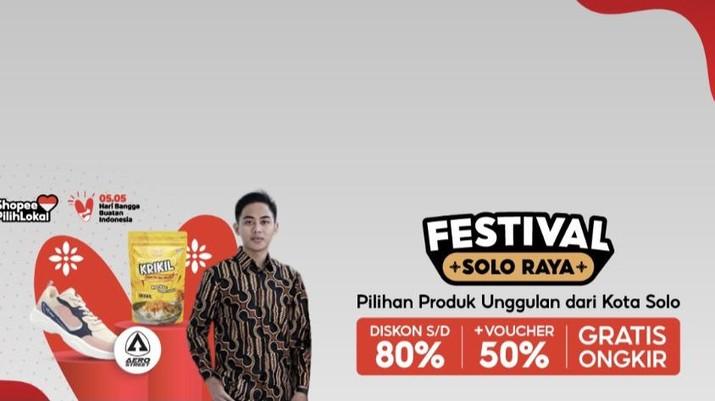 E-commerce Shopee bekerjasama dengan Pemerintah Kota Surakarta untuk menghadirkan kampanye Festival Solo Raya