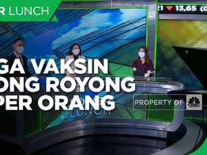 Harga Vaksin Gotong Royong Rp 1 Juta per Orang