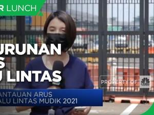Larangan Mudik 2021, Jasa Marga Catat Penurunan Arus Lalin