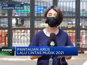 Larangan Mduik 2021, Jasa Marga Catat penurunan Arus Lalin