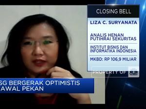 Optimisme Pasar Jelang Libur Lebaran, IHSG Ditutup Menghijau
