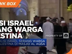 Polisi Israel Serang Warga Palestina di Masjid Al Aqsa
