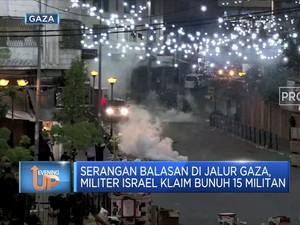 22 Orang Tewas Atas Serangan Udara Israel di Jalur Gaza