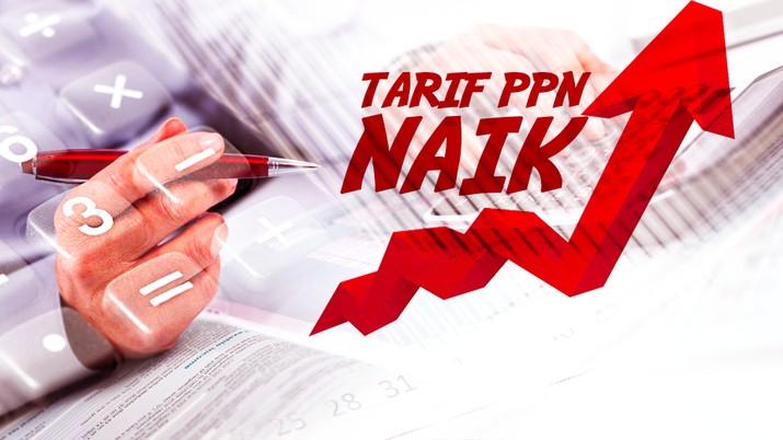 Cover topik/ Tarif PPN Naik_Konten