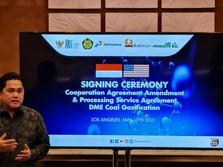 Erick Thohir: Proyek DME Bikin Hemat Cadangan Devisa Rp 9,7 T