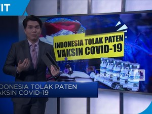 Indonesia Tolak Paten Vaksin Covid-19