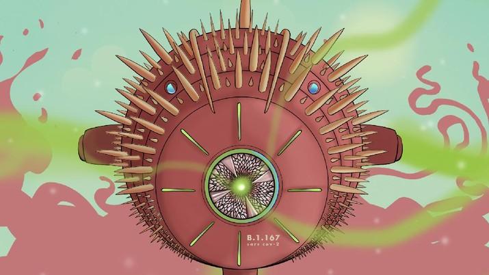 Infografis, Seperti Ini Bahayanya Jika Kamu Terpapar Mutasi VIrus Corona B.1.167