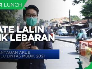 Larangan Mudik, Jalan Raya Bogor Terpantau Sepi