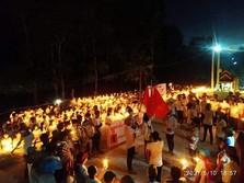 Myanmar Masih Panas, Pendukung Pro Demokrasi Turun ke Jalan!