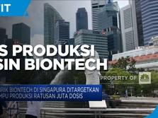 Singapura, Basis Produksi Vaksin BioNTech di Asia Tenggara