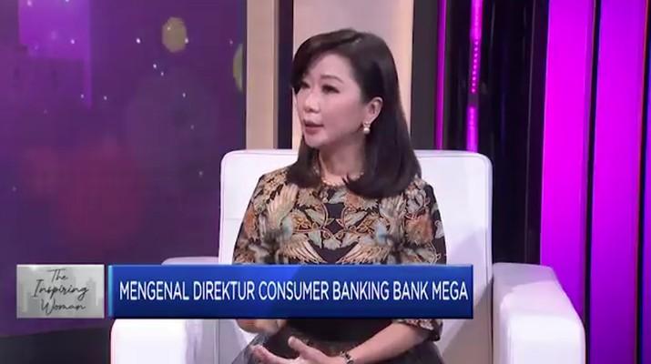 Direktur Consumer Banking Bank Mega, Lay Diza Larentie