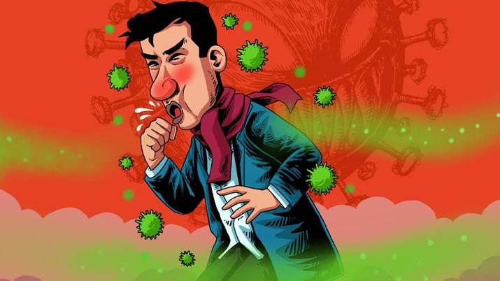 Infografis/Ini Ciri-ciri gejala orang terinfeksi Covid-19 dari India/Aristya Rahadian