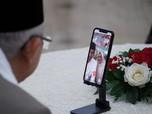 Hari Lebaran, Jokowi dan Ma'ruf Amin Silaturahmi Online