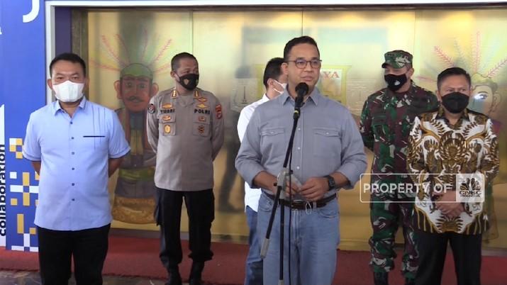 Anies Baswedan Siapkan 2 Strategi Antisipas Lonjakan Arus Balik Lebaran 2021(CNBC Indonesia TV)