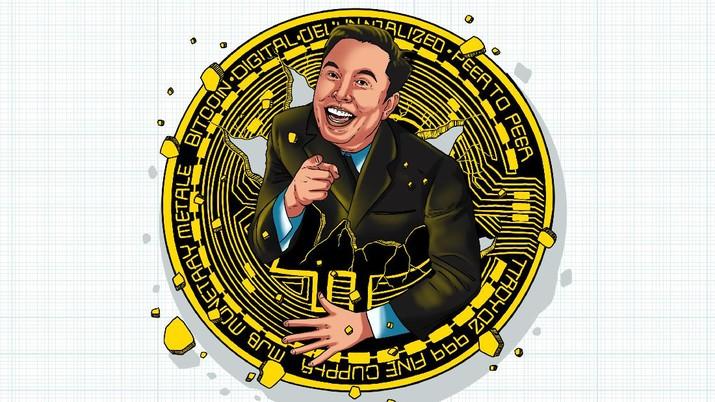 Infografis/ Kena Prank Elon Musk, Investor Kripto 'Rugi' Rp 5.183 T/Aristya Rahadian