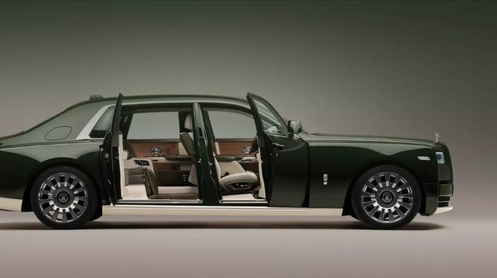 Rolls-Royce Phantom Oribe, sebuah mobil buah kolaborasi Rolls Royce dengan Hermes. (Dok. Rolls-Royce)