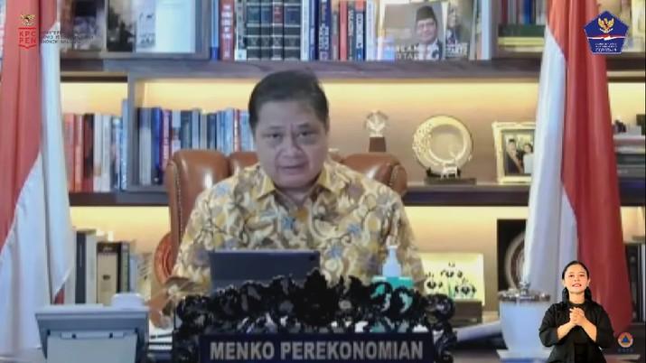 Airlangga Hartarto. Ketua KPCPEN/Menteri Koordinator Bidang Perekonomian