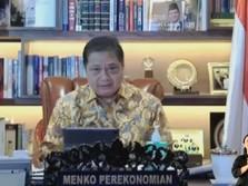 Airlangga 'Pede' Pertumbuhan Ekonomi RI Q2-2021 Meroket 7%