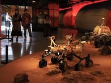 Robot Rover Zhurong Milik China Berhasil Mendarat di Mars
