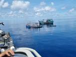 Ngeri...Ribuan Kapal China Masuki Natuna, Ganggu Tambang RI!