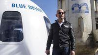 Muncul Petisi Online Larang Jeff Bezos Kembali ke Bumi