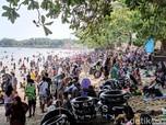 Selain Ancol, Deretan Pantai Ini Dibanjiri Orang Tanpa Masker