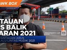 12 Titik Pos Pemeriksaan Arus Balik Lebaran 2021