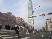 Taiwan 'Lockdown' Parsial: Corona Rekor, Warga Panic Buying