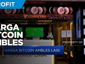 Harga Bitcoin Ambles, Ini Penyebabnya