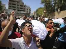 Situasi Terkini Gaza Masih Mencekam, Hampir 200 Orang Tewas