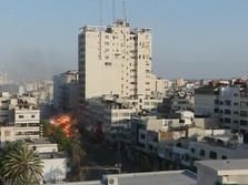 Nyaris 200 Jiwa Melayang dari Pertempuran Palestina-Israel