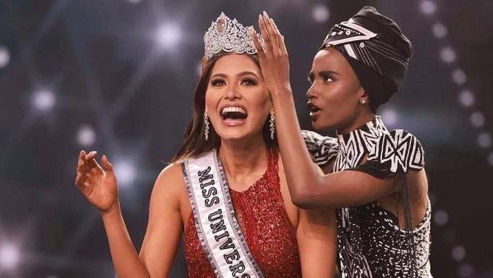Miss Universe 2020, Andrea Meza (Tangkapan Layar via Instagram @andreamezamx)