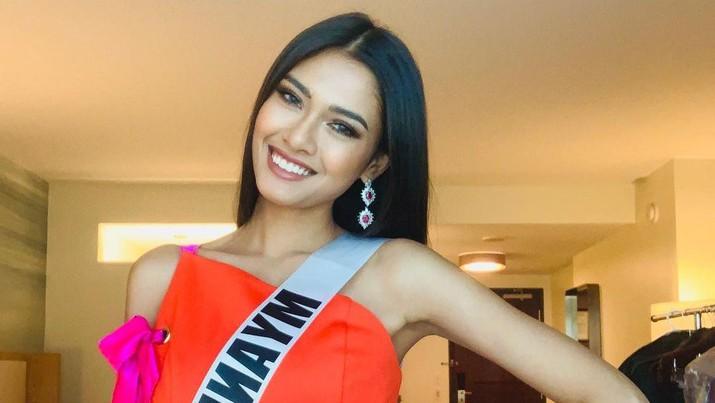 Miss Myanmar Thuzar Wint Lwin (Tangkapan Layar Instagram @thuzar_wintlwin)
