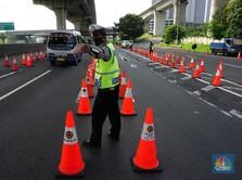 PPKM Mikro Diperkuat: Polisi Razia Kerumunan, Blokade Jalan!